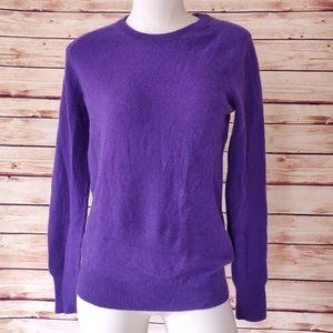 Purple Equipment Sloane Cashmere Crew Neck Sweater